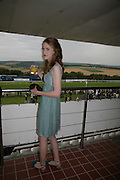 Clemmie Gibbs, Glorious Goodwood. 2 August 2007.  -DO NOT ARCHIVE-© Copyright Photograph by Dafydd Jones. 248 Clapham Rd. London SW9 0PZ. Tel 0207 820 0771. www.dafjones.com.