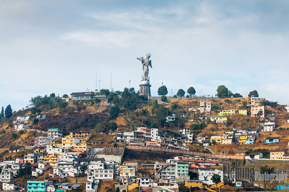 Located on top of the Cerro El Panecillo, this imposing sculpture can be seen from any location in downtown Quito.