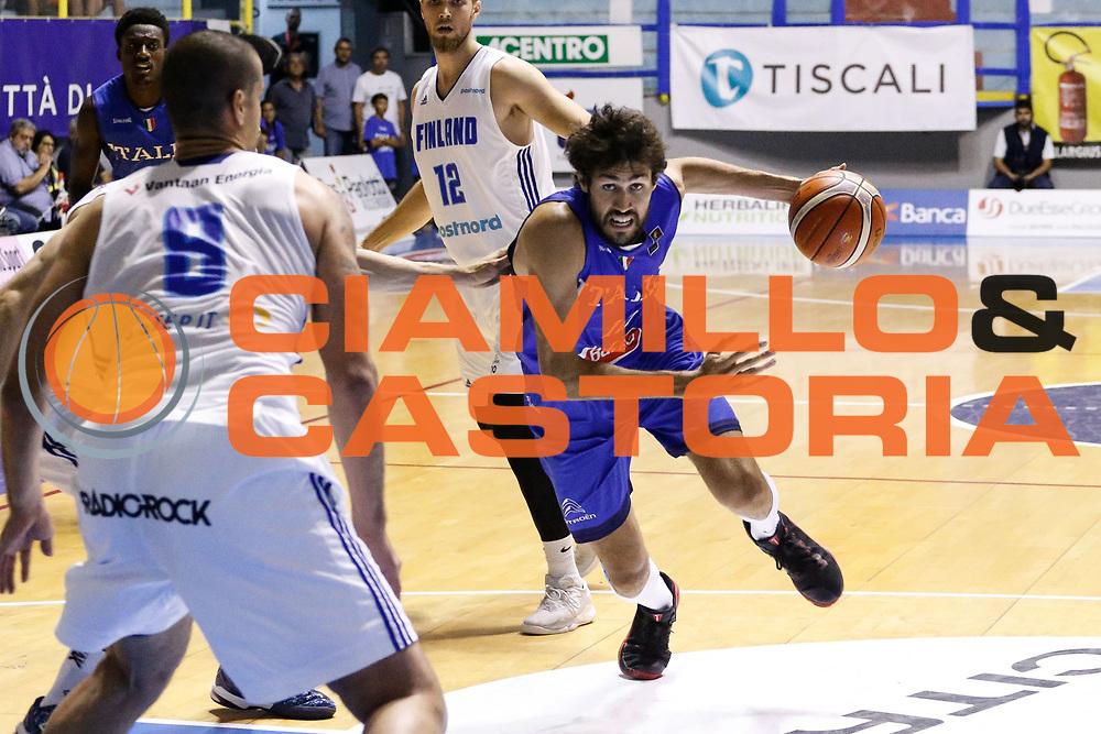 Davide Pascolo<br /> Italia - Finlandia<br /> Nazionale Italiana Maschile<br /> Torneo Sardegna a Canestro 2017<br /> Cagliari 11/08/2017<br /> Foto Ciamillo-Castoria