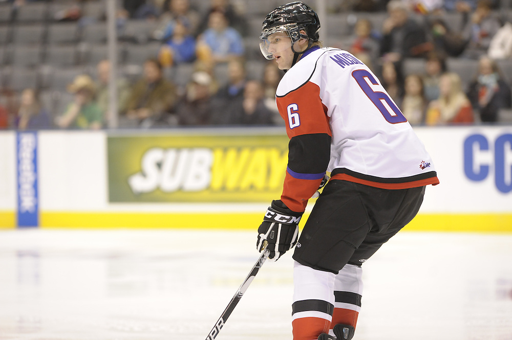David Musil of the Vancouver Giants in the Home Hardware CHL Top Prospects Game at Air Canada Centre in Toronto on Wednesday January 19, 2011. Photo by Aaron Bell/CHL Images