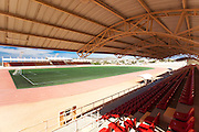 Don Koll, long time Los Cabos resident, developer, benefactor and  Cabo lover, donated  bucks to build the state of the art soccer and track and field stadium in the Los Cangregos area in the outskirts of Cabo San Lucas. This magnificent structure seat 2500 spectators, the pitch is regulation size synthetic turf and lighted for night play. The Don Koll Stadium will be home to many soccer team that competes in the northern Mexico premier division. The advanced learning center offers full scholarships to economically challenged kids who are academic high acheivers that observe good behavior, the scholaships include free physical and tactical training, uniforms and tournament travel participation. The Cabo San Lucas Junior Summer Soccer Festival, a tournament that will emphisize friendly international competition and cultural exchanges among the youths of different countries.