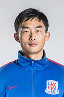 **EXCLUSIVE**Portrait of Chinese soccer player Tao Jin of Shanghai Greenland Shenhua F.C. for the 2018 Chinese Football Association Super League, in Shanghai, China, 2 February 2018.