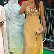 Cineworld Castleford  7 June 2007  IIFA  (International Indian Film Academy)  Bollywood actress Geeta Basra at Red Carpet  world premiere of the movie The Train