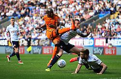 Tyler Walker of Bolton Wanderers fires a shot at goal - Mandatory by-line: Matt McNulty/JMP - 21/04/2018 - FOOTBALL - Macron Stadium - Bolton, England - Bolton Wanderers v Wolverhampton Wanderers - Sky Bet Championship