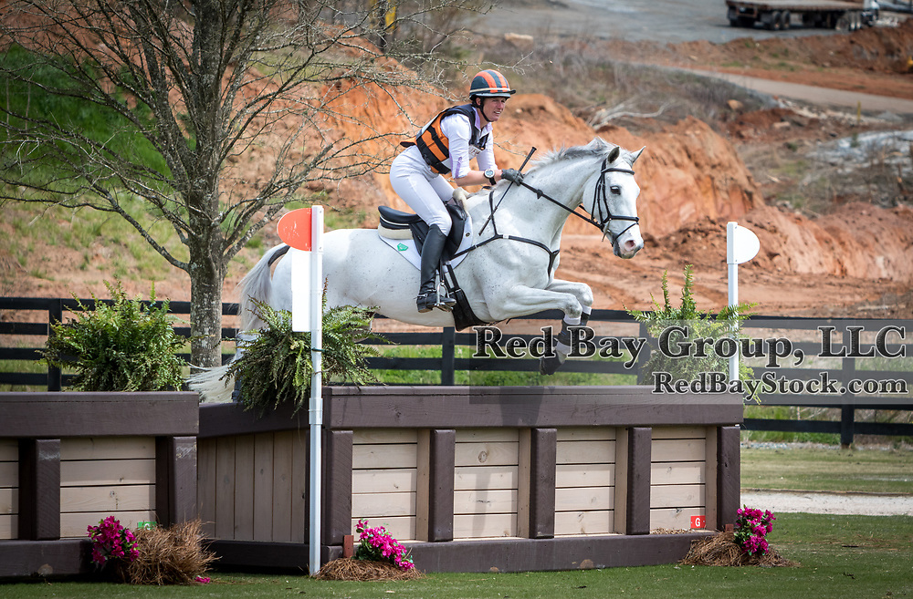 Lauren Kieffer (USA) and Landmark's Monte Carlo at The Fork Horse Trials at the Tryon International Equestrian Center in Mill Spring, North Carolina.