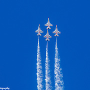 USAF Thunderbirds Flying To The Moon
