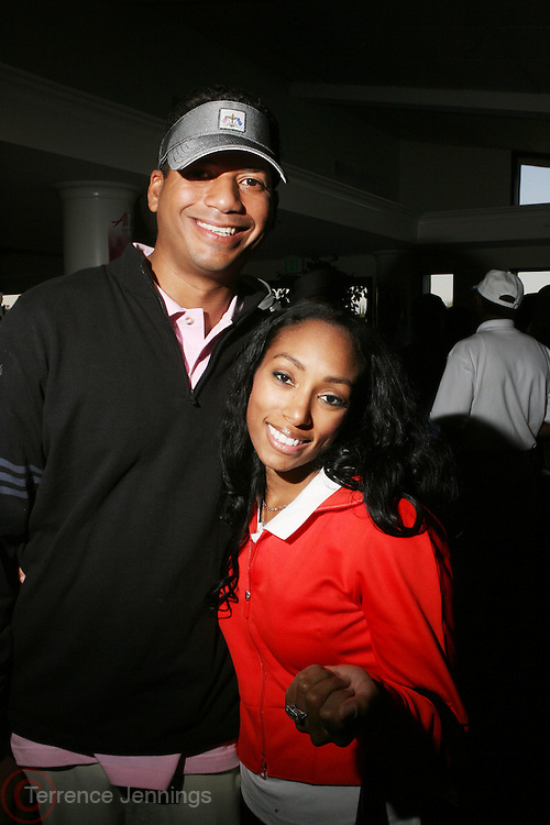 l to r: Chico Benymon and Michelle Murray at ?Kiki's 1st Annual Celebrity Golf Challenge? Presented by ALIZÉ, The Premium Liqueur held at The Braemar Country Club on October 134, 2008 in Tarzana, Ca..KiKi?s Celebrity Golf Challenge (CGC) - conceived and spearheaded by Ms. Shepard ? is a fundraising event to benefit The K.I.S. Foundation, Inc.  The central mission of The K.I.S. Foundation is to inform and educate the public, raise awareness about Sickle Cell Disease through community outreach programs and educational scholarships, and to financially help support the efforts of research institutions to find a universal cure. Sickle Cell Disease is an inherited, non-contagious blood disease that can be crippling, painful, and life threatening. The K.I.S. Foundation Awards Banquet will also honor individuals and organizations who have selflessly committed themselves in the fight against Sickle Cell Disease...
