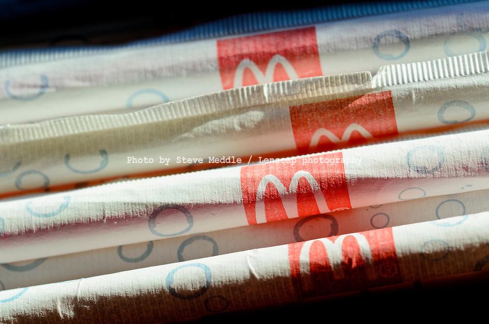 McDonald's Straws - Feb 2012