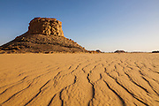 Monolith (inselberg) in the Western Desert, Egypt