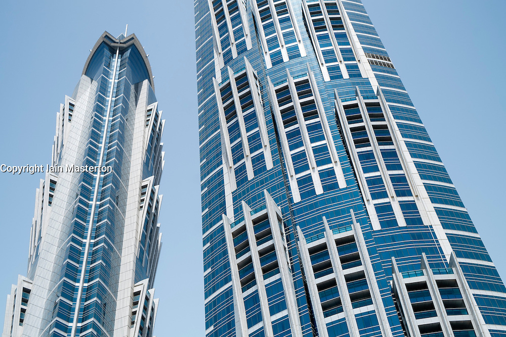 New JW Marriott Marquis hotel , the tallest in the world,in Business Bay Dubai United Arab Emirates