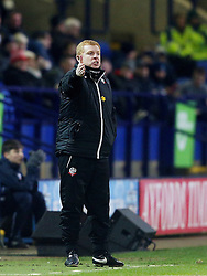 Bolton Wanderers manager Neil Lennon gestures - Mandatory byline: Matt McNulty/JMP - 08/03/2016 - FOOTBALL - Macron Stadium - Bolton, Lancashire - Bolton Wanderers v Ipswich Town - SkyBet Championship