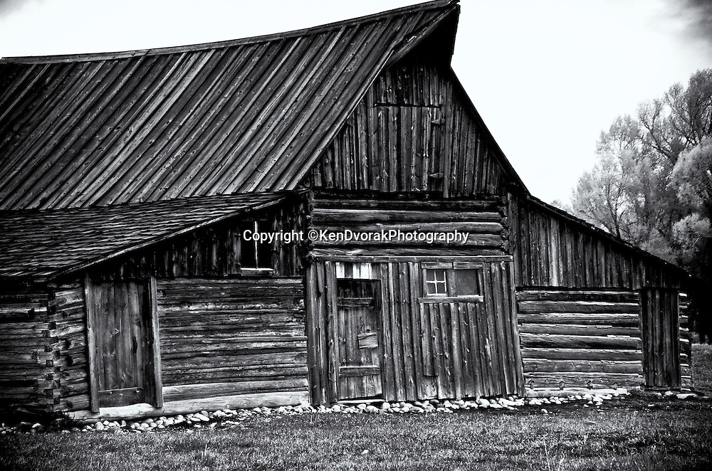 Teton/Yellowstone '13<br /> B&amp;W conversion 8/15/13