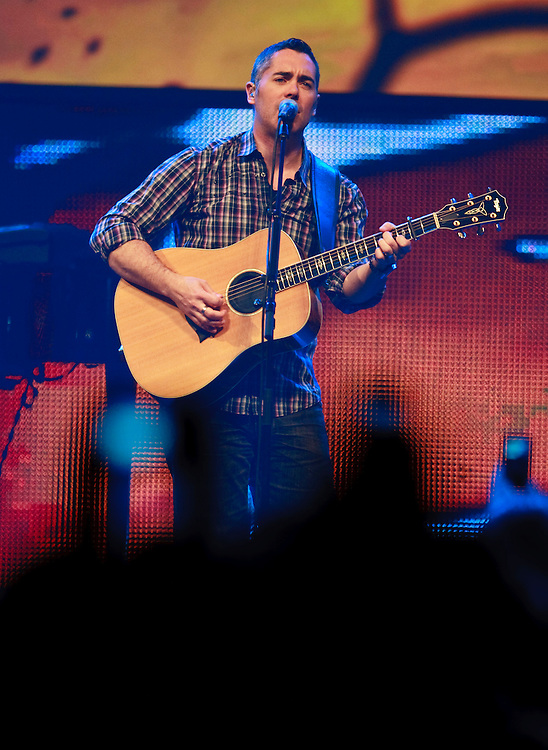 Ed Robertson and the Barenaked Ladies perform at Free the Children's We Day celebrations in Kitchener, Ontario, February 17, 2011. We Day was started to celebrate the power of young people. <br /> The Canadian Press/GEOFF ROBINS