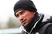 Harry Kewell  during the EFL Sky Bet League 2 match between Crawley Town and Cheltenham Town at the Checkatrade.com Stadium, Crawley, England on 24 March 2018. Picture by Antony Thompson.