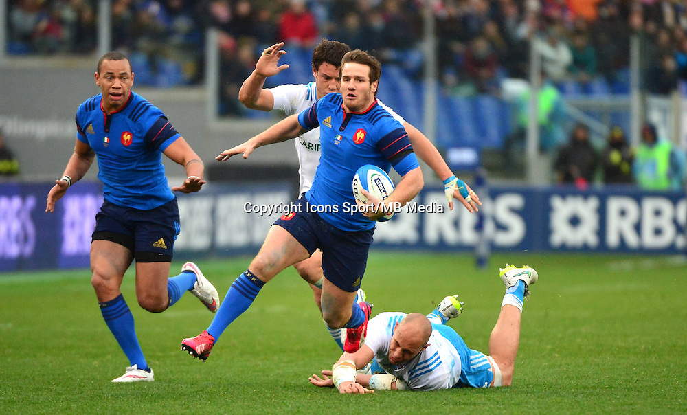 Camille LOPEZ - 15.03.2015 - Rugby - Italie / France - Tournoi des VI Nations -Rome<br /> Photo : David Winter / Icon Sport