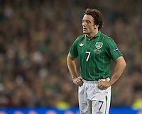 Fussball International, Nationalmannschaft   EURO 2012 Play Off, Qualifikation, Irland - Estland 15.11.2011 Stephen HUNT (IRL)