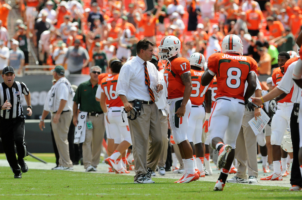 2012 Miami Hurricanes Football vs North Carolina State