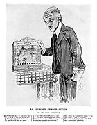 Mr Punch's Personalities. XV. - Mr John Masefield.