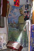 Uzbekistan, Bukhara. Lenin and Stalin.
