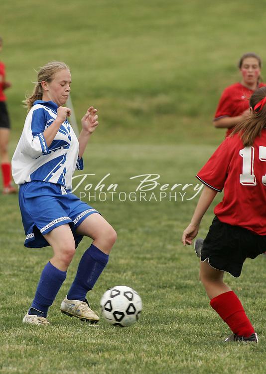 MCHS (3) Girls JV Soccer vs George Mason (0), on Friday.May 13, 2005