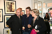 Norman Parkinson and Philip Treacy, an exhibition of photographs by Norman Parkinson and drawings by celebrated milliner Philip Treacy. ELEVEN Gallery. VICTORIA. LONDON. 3 July 2007.  -DO NOT ARCHIVE-© Copyright Photograph by Dafydd Jones. 248 Clapham Rd. London SW9 0PZ. Tel 0207 820 0771. www.dafjones.com.