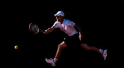 05.08.2015, Sportpark, Kitzbuehel, AUT, ATP World Tour, Generali Open, Hauptrunde, Einzel, im Bild Dominic Thiem (AUT) // Dominic Thiem of Austria in action during men' s singles Main round match of the Generali Open tennis tournament of the ATP World Tour at the Sportpark in Kitzbuehel, Austria on 2015/08/05. EXPA Pictures © 2015, PhotoCredit: EXPA/ JFK