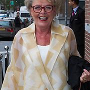 NLD/Amsterdam/20130907 - Modeshow najaar Mart Visser 2013, Marianne van Wijnkoop
