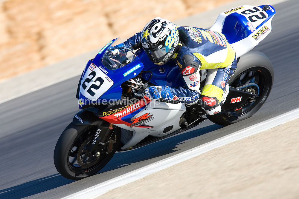 Round 11 - AMA Superbike Series - Laguna Seca - Monterey, CA - September 27-28, 2008<br /> <br /> :: Contact me for download access if you do not have a subscription with andrea wilson photography. ::  <br /> <br /> :: For anything other than editorial usage, releases are the responsibility of the end user and documentation will be required prior to file delivery ::