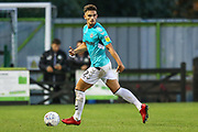 Forest Green Rovers Liam Shephard(2) on the ball during the EFL Sky Bet League 2 match between Forest Green Rovers and Stevenage at the New Lawn, Forest Green, United Kingdom on 21 August 2018.