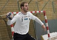 HÅNDBOLD: Mike Jensen (Nordsjælland) under kampen i 888-Ligaen mellem Nordsjælland Håndbold og Aalborg Håndbold den 12. december 2017 i Frederiksborg Hallen i Hillerød. Foto: Claus Birch.