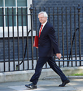 Cabinet meeting arrivals <br /> Downing Street, London, Great Britain <br /> 19th July 2016 <br /> <br /> New members of the Cabinet <br /> arriving ahead of the first cabinet meeting chaired by Theresa May <br /> <br /> David Davis<br /> Secretary for exiting the EU<br /> <br /> <br /> Photograph by Elliott Franks <br /> Image licensed to Elliott Franks Photography Services