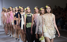 SEP 16 2014 Fashion East show at LFW