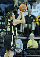 January 28, 2012: Purdue Boilermakers guard Courtney Moses (15) during the NCAA women's basketball game between the Purdue Boilermakers and the Iowa Hawkeyes at Carver-Hawkeye Arena in Iowa City, Iowa on Saturday, January 28, 2012.