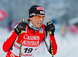17.12.2011, Casino Arena, Seefeld, AUT, FIS Nordische Kombination, Langauf 10 km, im Bild Mario Stecher (AUT) // Mario Stecher of Austria during the cross-country skiing 10 km at FIS Nordic Combined World Cup in Sefeld, Austria on 20111211. EXPA Pictures © 2011, PhotoCredit: EXPA/ P.Rinderer