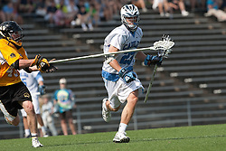 09 May 2009: North Carolina Tar Heels midfielder Sean Delaney (23) during a 15-13 win over the University of Maryland - Baltimore County Retrievers on Fetzer Field in Chapel Hill, NC.
