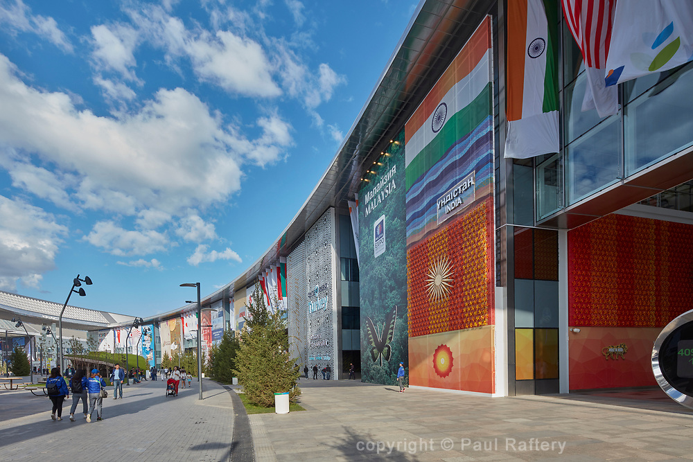 Expo 2017 Astana, Kazakhstan. Architect Smith & Gill.
