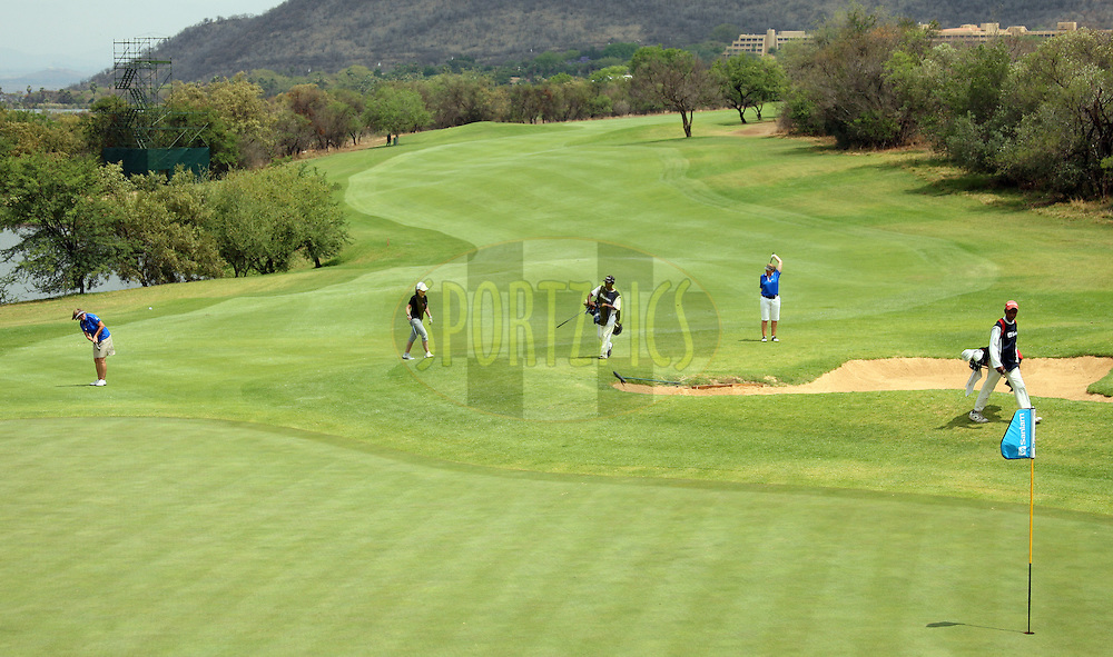 General view of the course during the delegates round of the Sanlam Cancer Challenge Finals held at The Gary Player Country Club in Sun City near Johannesburg on the 22nd October 2013. Photo by Jacques Rossouw - SPORTZPICS