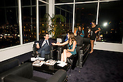 RICHIE KEEN; JACKIE SEIDEN, Vanity fair and Bally's 'Hollywood Domino' party to benefit The Art of Elysium at the Andaz Hotel, Sunset Boulevard. West Hollywood. 20 February 2009 *** Local Caption *** -DO NOT ARCHIVE-© Copyright Photograph by Dafydd Jones. 248 Clapham Rd. London SW9 0PZ. Tel 0207 820 0771. www.dafjones.com.<br /> RICHIE KEEN; JACKIE SEIDEN, Vanity fair and Bally's 'Hollywood Domino' party to benefit The Art of Elysium at the Andaz Hotel, Sunset Boulevard. West Hollywood. 20 February 2009