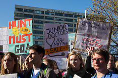 26 Apr 2016 - Junior doctors take first all-out National strike action.
