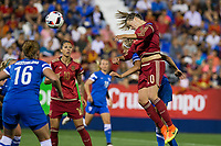 Spain's Irene Paredes during the match of  European Women's Championship 2017 at Leganes, between Spain and Finland. September 20, 2016. (ALTERPHOTOS/Rodrigo Jimenez)