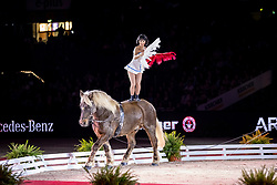 JUMEAUX Emilie<br /> Stuttgart - German Masters 2018<br /> Voltige<br /> Grosser Showabend<br /> 14. November 2018<br /> © www.sportfotos-lafrentz.de/Stefan Lafrentz