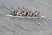 Putney/Barnes,  Great Britain, Hansa RG Hamburg. pass through,  Barnes Rail Bridge - 2008 Head of the River Race. Raced from Mortlake to Putney, over the Championship Course.  15/03/2008  [Mandatory Credit. Peter Spurrier/Intersport Images] Rowing Course: River Thames, Championship course, Putney to Mortlake 4.25 Miles,