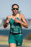 February 9, 2014 - Emma Moffat (AUS) Ironman Geelong 70.3. Canon 1Dx, Canon 300mm f/2.8 IS II lens, 1/1250 @ f/4  Photo By Lucas Wroe ©