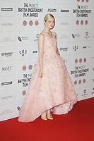 LONDON - DECEMBER 09: Elle Fanning attended The British Independent Film Awards at the Old Billingsgate Market, London, UK. December 09, 2012. (Photo by Richard Goldschmidt)