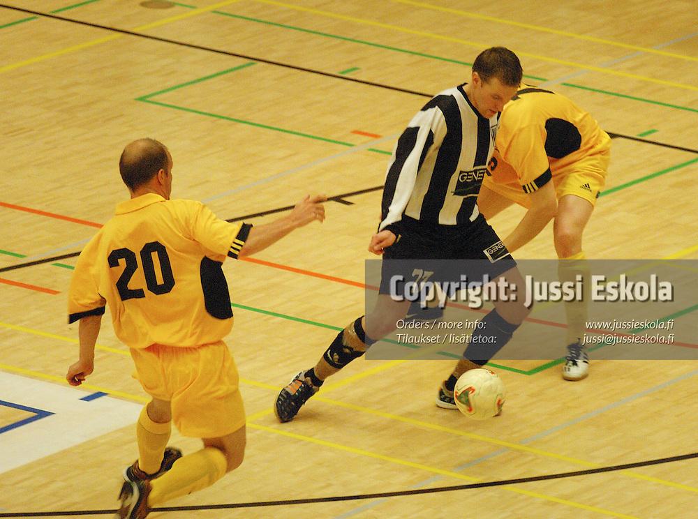 Futsal-cupin finaali GFT-MaKu, Valkeakoski 27.2.2005.&amp;#xA;Photo: Jussi Eskola<br />