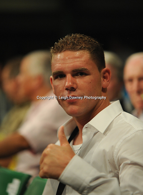 Billy Joe Saunders pictured at York Hall, Bethnal Green, London on Friday 30th September 2011. Boxnation.tv's debut live TV Channel 456 on Sky. Photo credit: © Leigh Dawney. Queensberry Promotions.