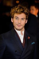 Sam Claflin at The World Premiere of 'The Hunger Games: Catching Fire'. Leicester Square, London, United Kingdom. Monday, 11th November 2013. Picture by Chris Joseph / i-Images