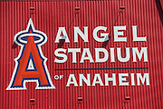 ANAHEIM, CA - MAY 4:  Closeup photo of the Big A sign at the Los Angeles Angels of Anaheim game against the Baltimore Orioles on Saturday, May 4, 2013 at Angel Stadium in Anaheim, California. The Orioles won the game 5-4 in ten innings. (Photo by Paul Spinelli/MLB Photos via Getty Images)