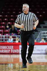 NORMAL, IL - December 16: Andrew Bills during a college women's basketball game between the ISU Redbirds and the Maryville Saints on December 16 2018 at Redbird Arena in Normal, IL. (Photo by Alan Look)