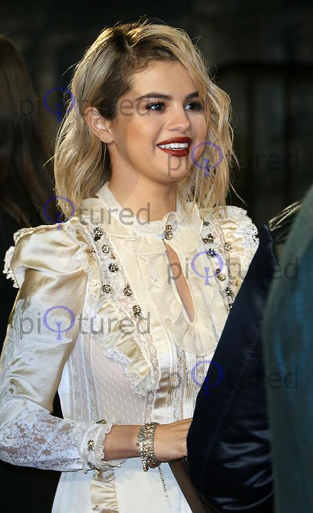 Selena Gomez, The Fashion Awards 2017, The Royal Albert Hall, London UK, 04 December 2017, Photo by Richard Goldschmidt